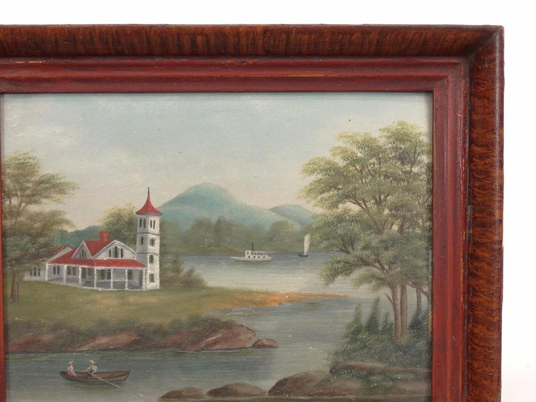 American School, 19th c. Riverscape - 4