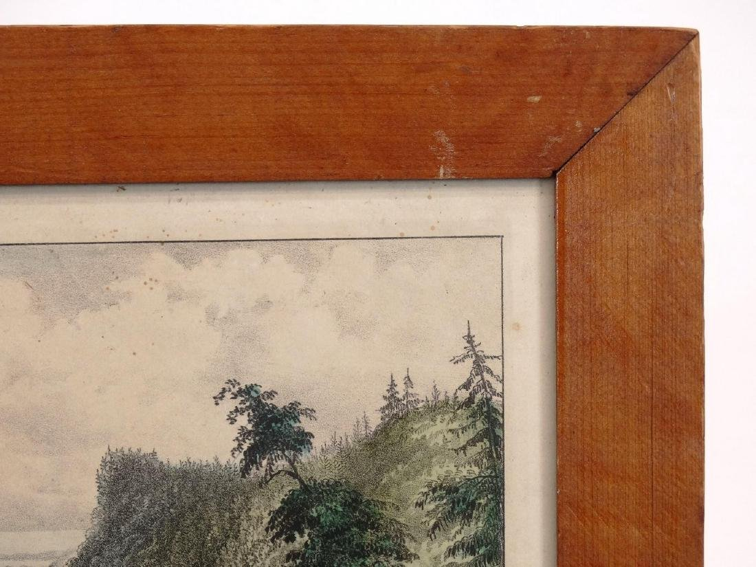 19th c. Currier & Ives Print - 5