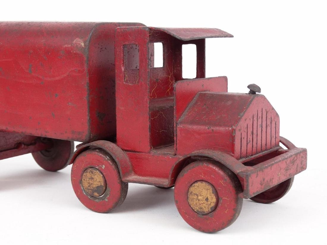 Early Pressed Steel Toy Truck - 2