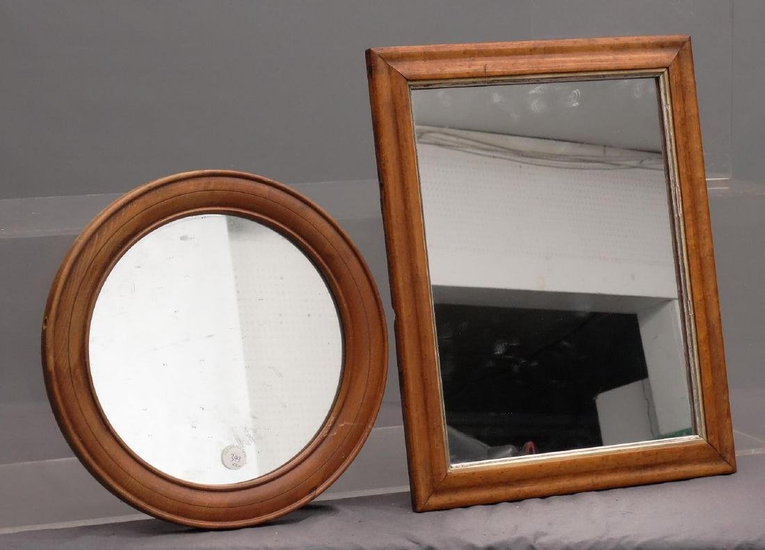 Birdseye Maple Frame With Mirror Lot