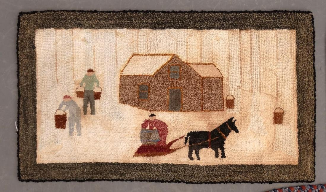 Hooked Rug Lot - 3