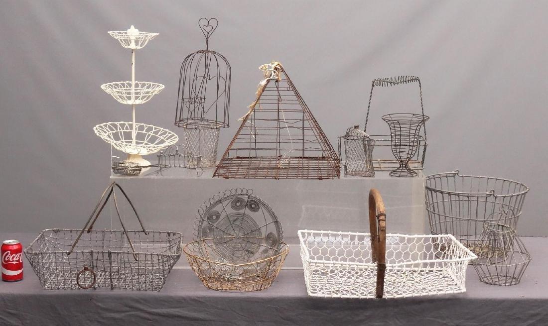 Wire Basket Lot