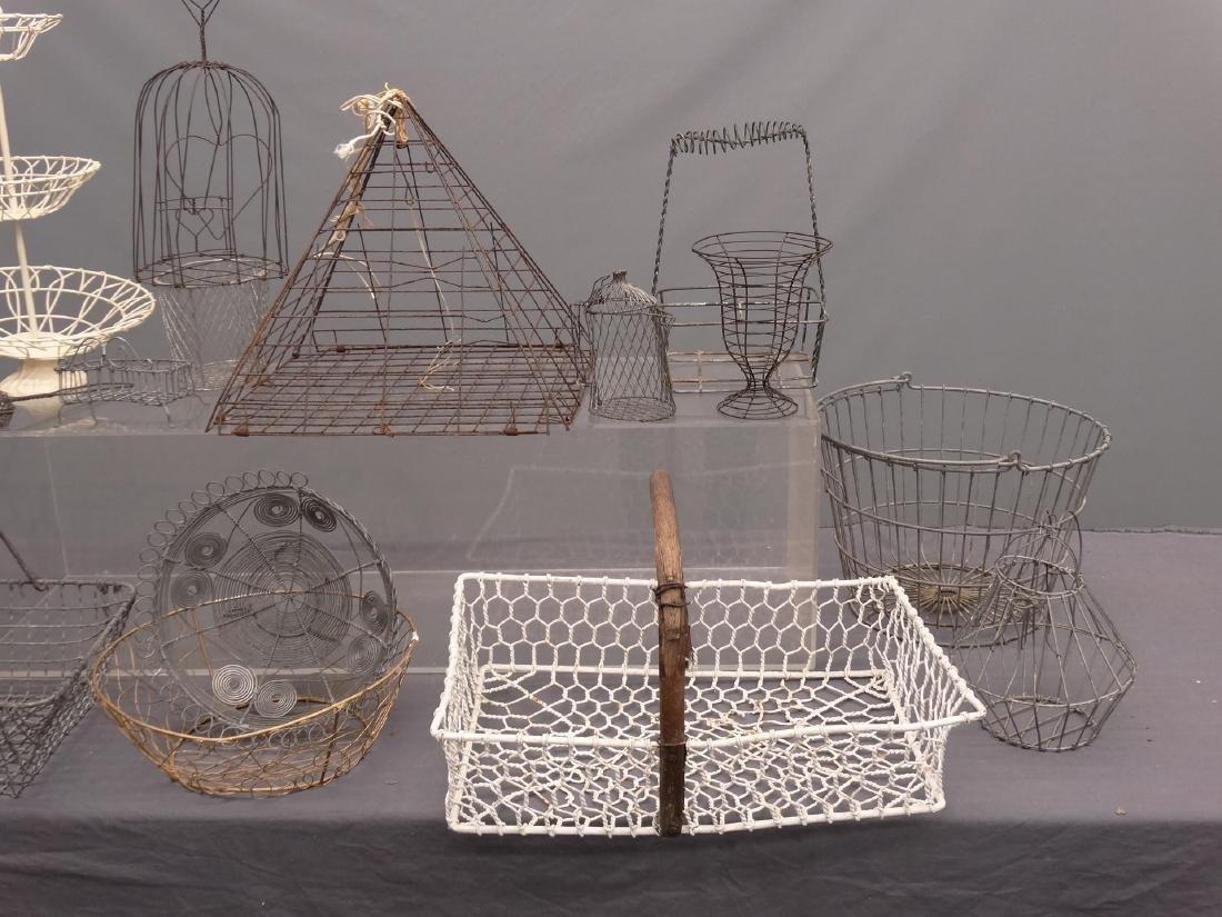 Wire Basket Lot - 2