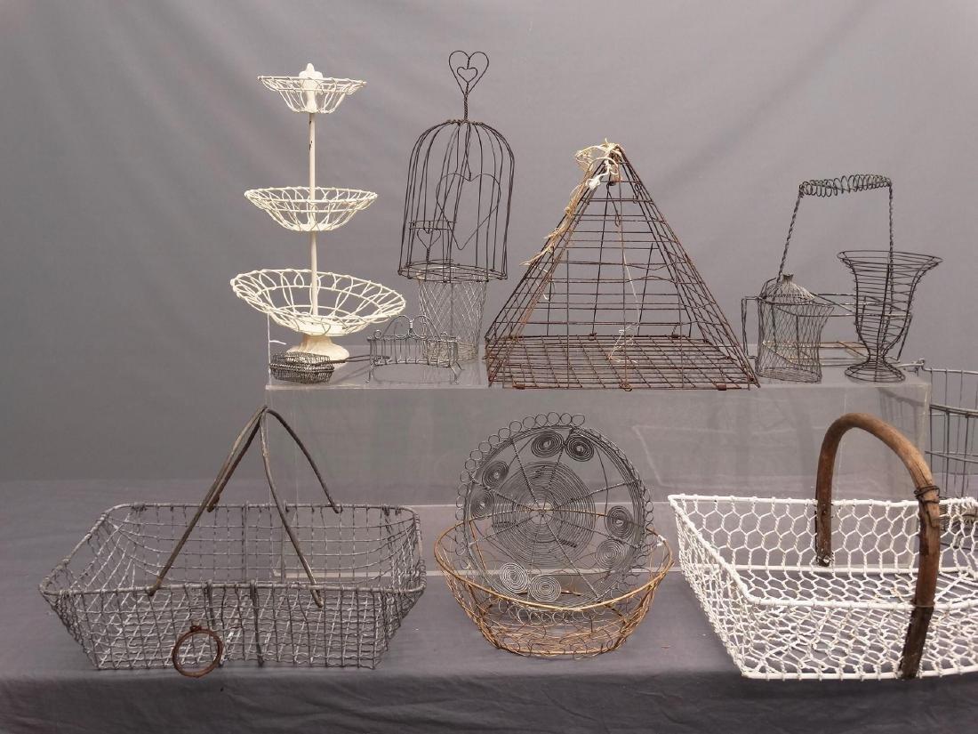 Wire Basket Lot - 3