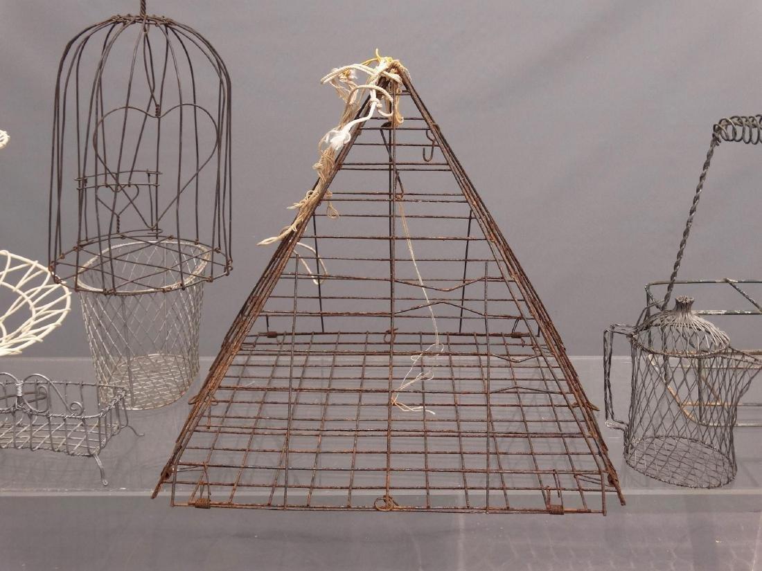 Wire Basket Lot - 4