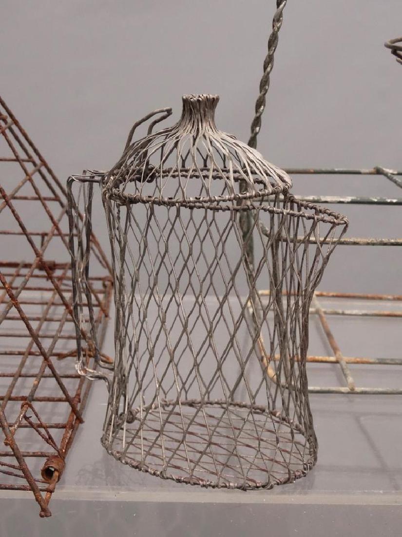 Wire Basket Lot - 5