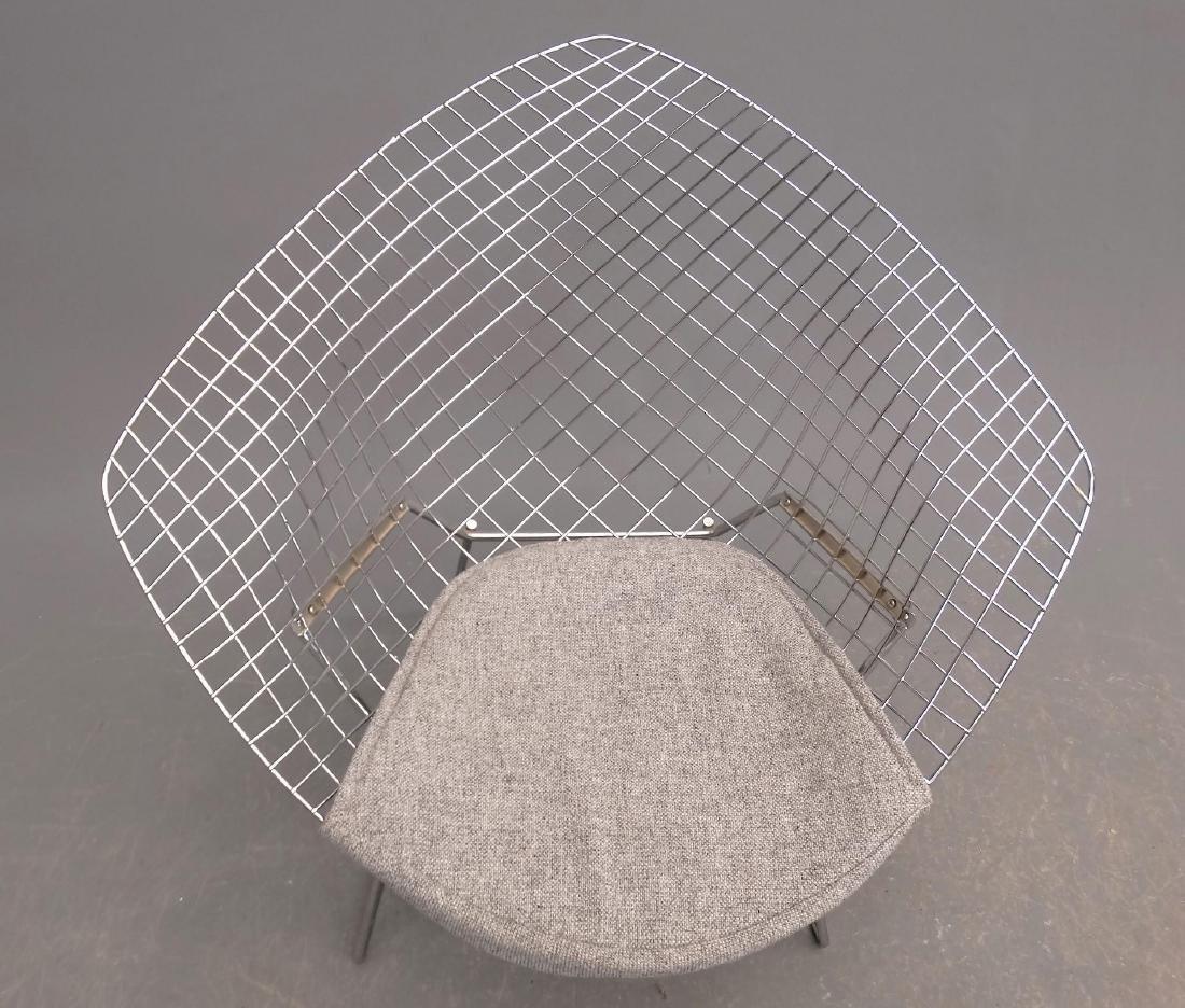 Bertoia Style Chair & Ottoman - 3