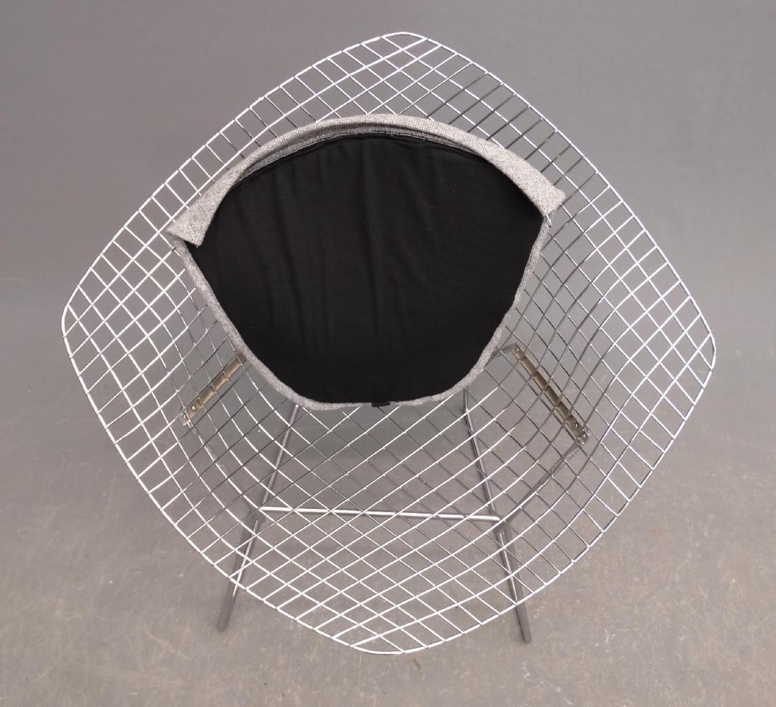 Bertoia Style Chair & Ottoman - 4