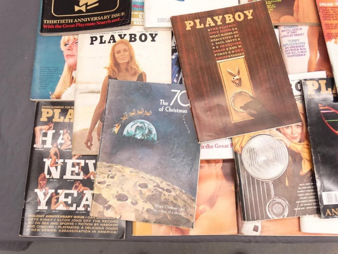 Vintage Playboy Magazines - 4