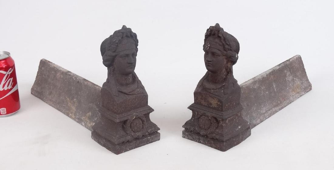 Pair Victorian Fire Dogs
