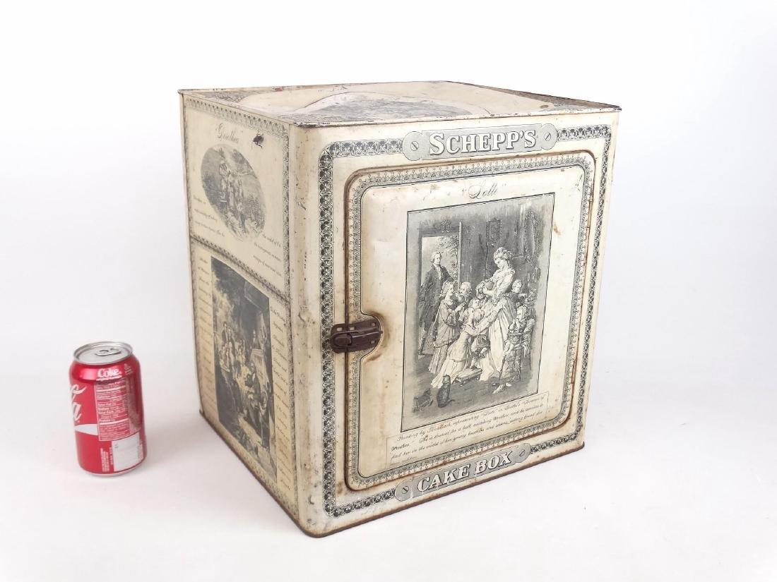 Vintage Cake Box
