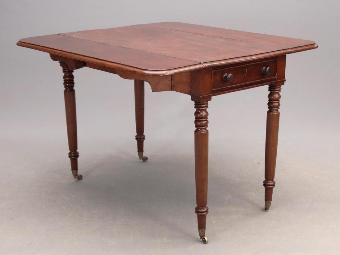 19th c. English Dropleaf Table - 2