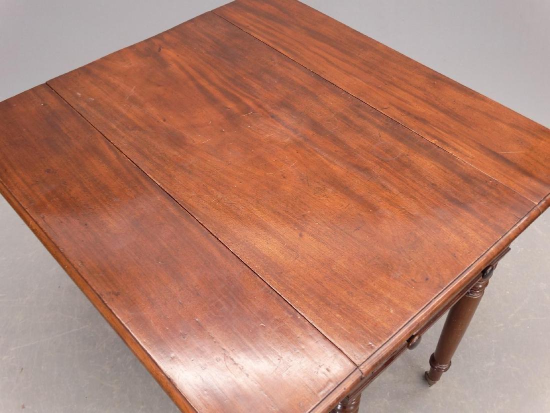 19th c. English Dropleaf Table - 3
