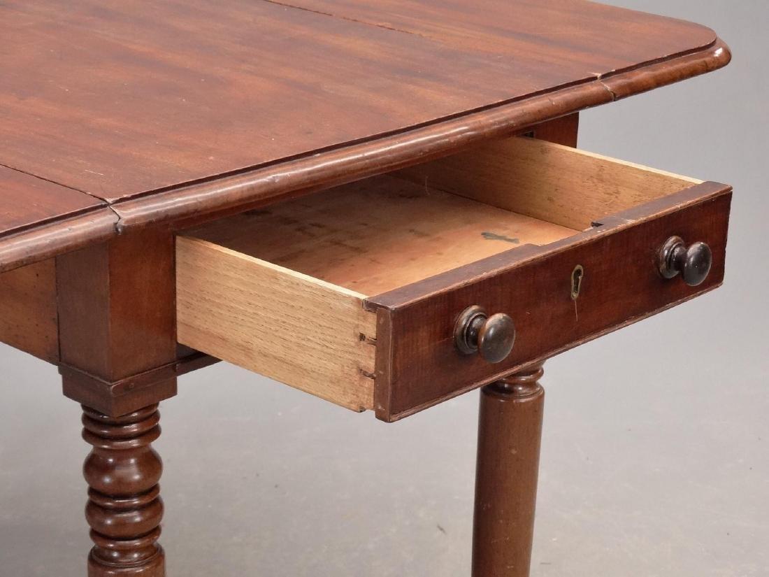 19th c. English Dropleaf Table - 4