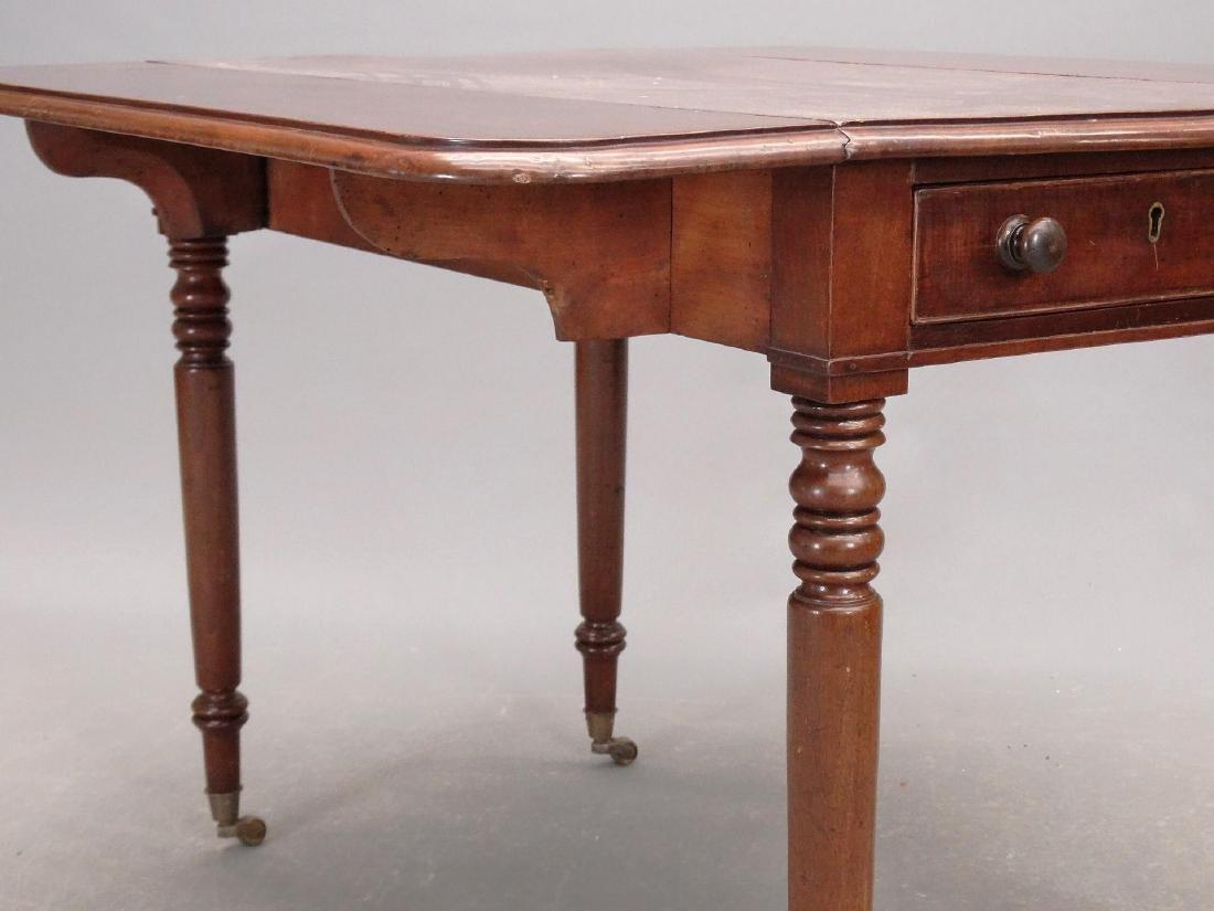 19th c. English Dropleaf Table - 5