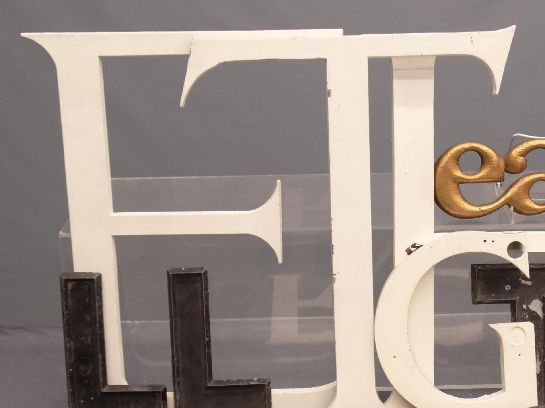 Collection Of Vintage Sign Letters - 3