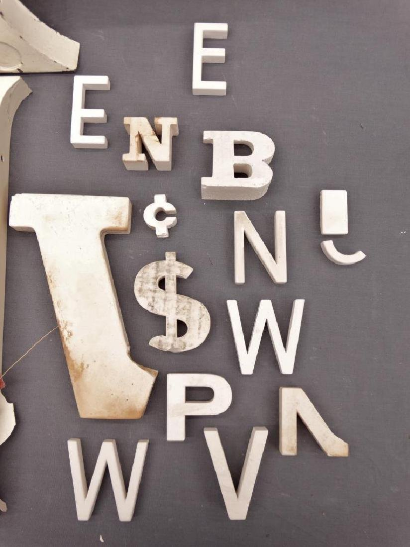Collection Of Vintage Sign Letters - 4