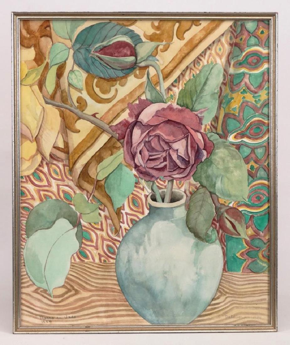Floral Decorative Arts Study By Delevoryas