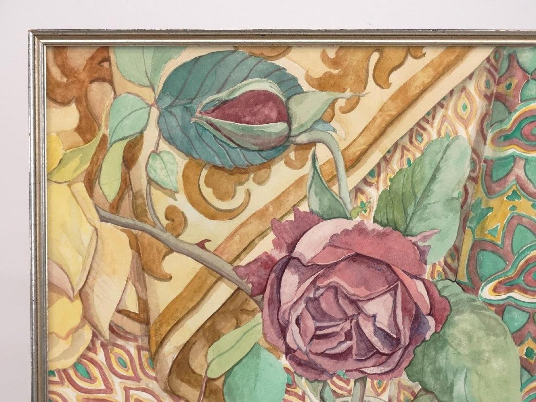 Floral Decorative Arts Study By Delevoryas - 2