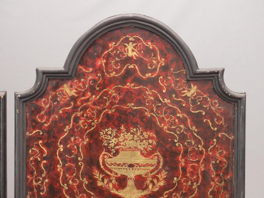 Pair Boulle Style Panels - 2