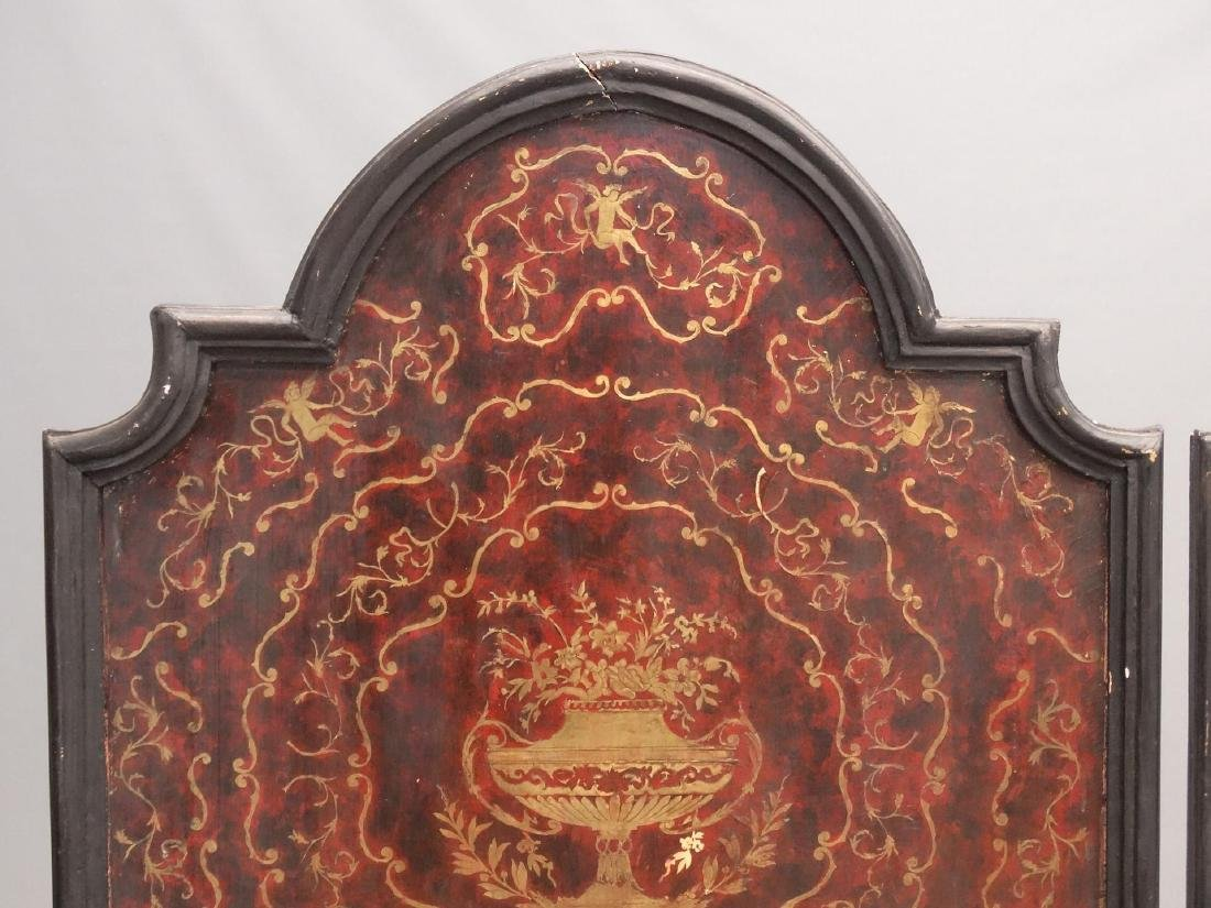 Pair Boulle Style Panels - 3
