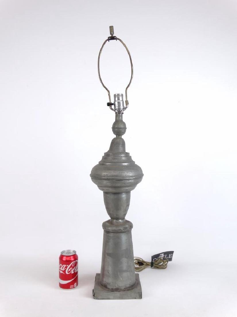 Pewter Lamp