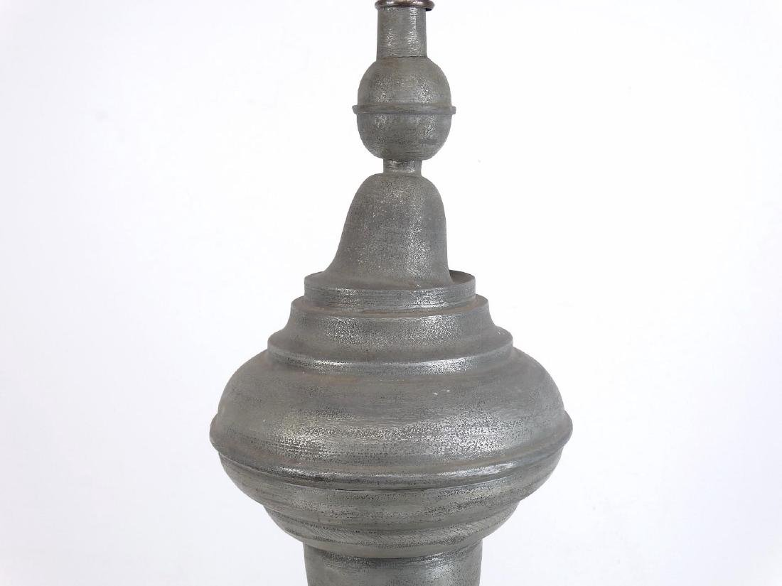 Pewter Lamp - 2