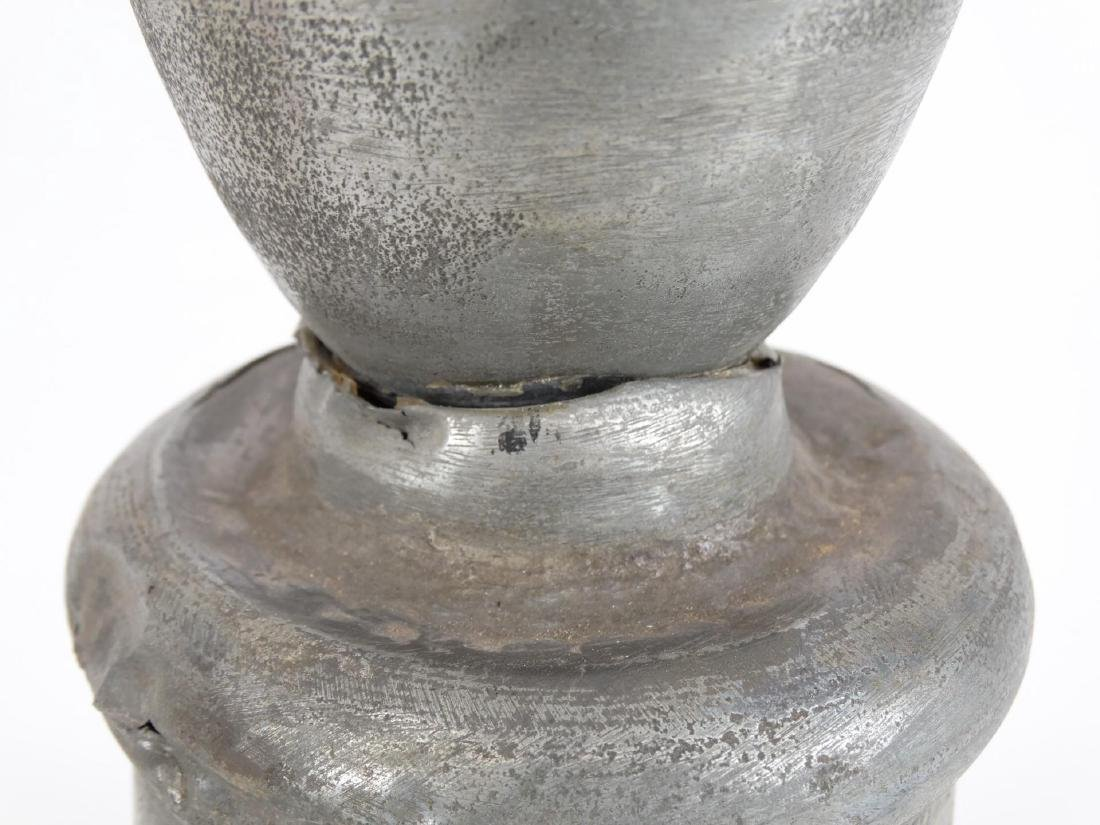 Pewter Lamp - 4