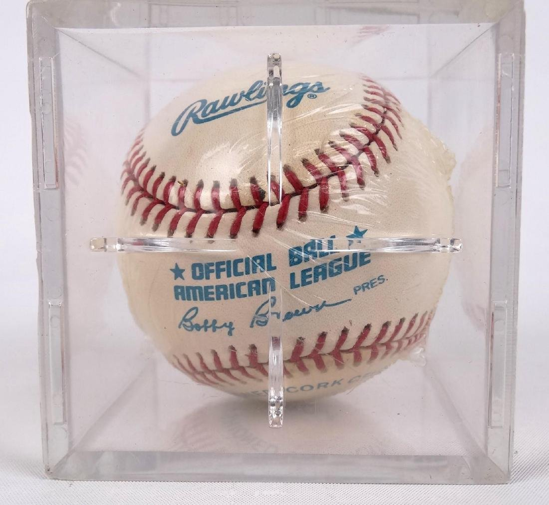 Mickey Mantle Autographed Baseball - 3