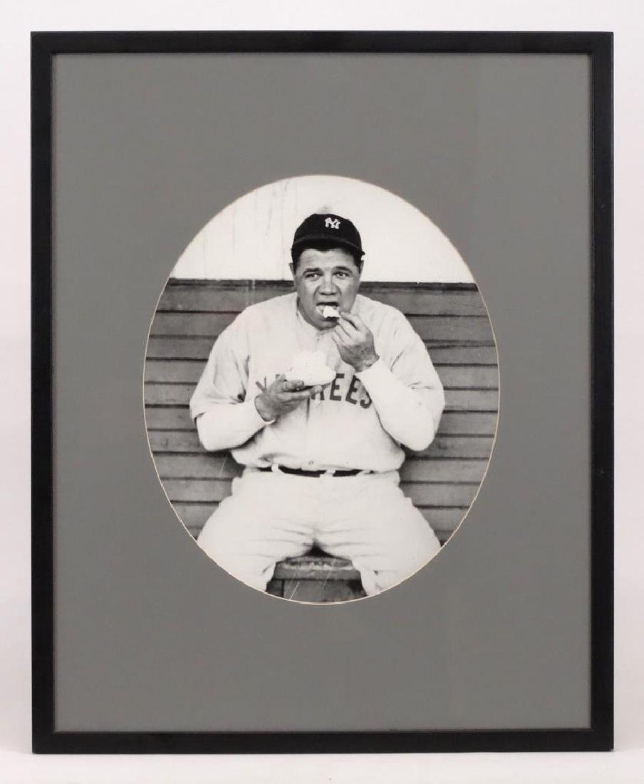 Babe Ruth Reprint Photograph