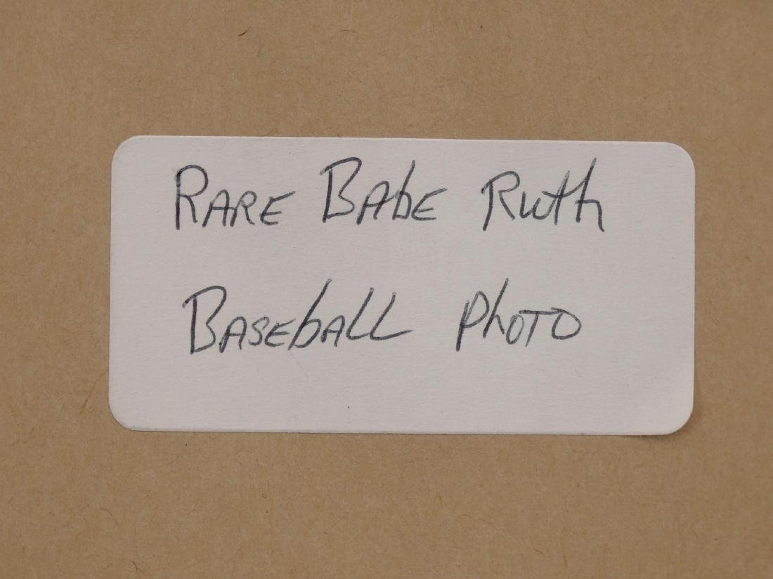 Babe Ruth Reprint Photograph - 4