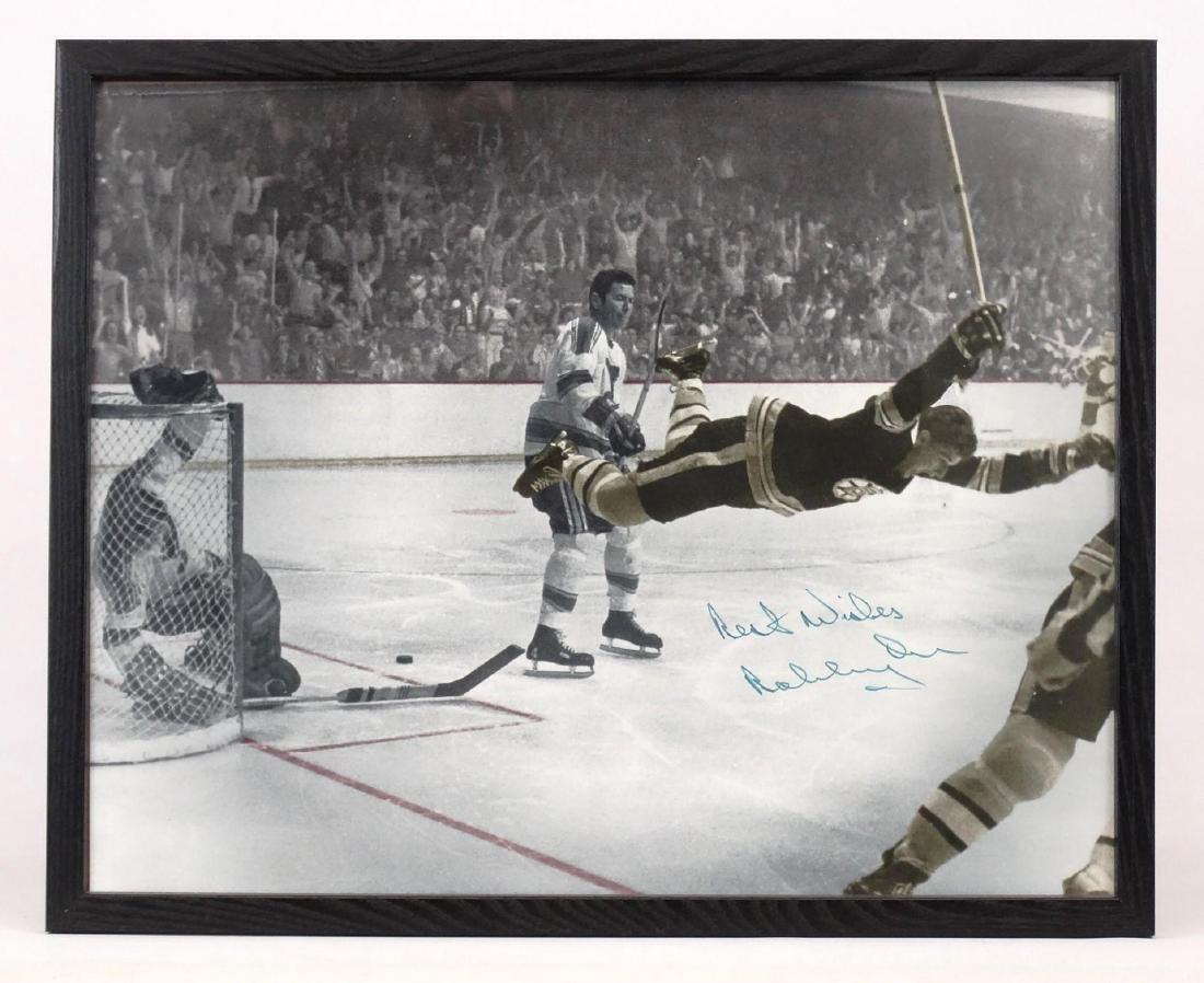 Bobby Orr Autographed Photograph
