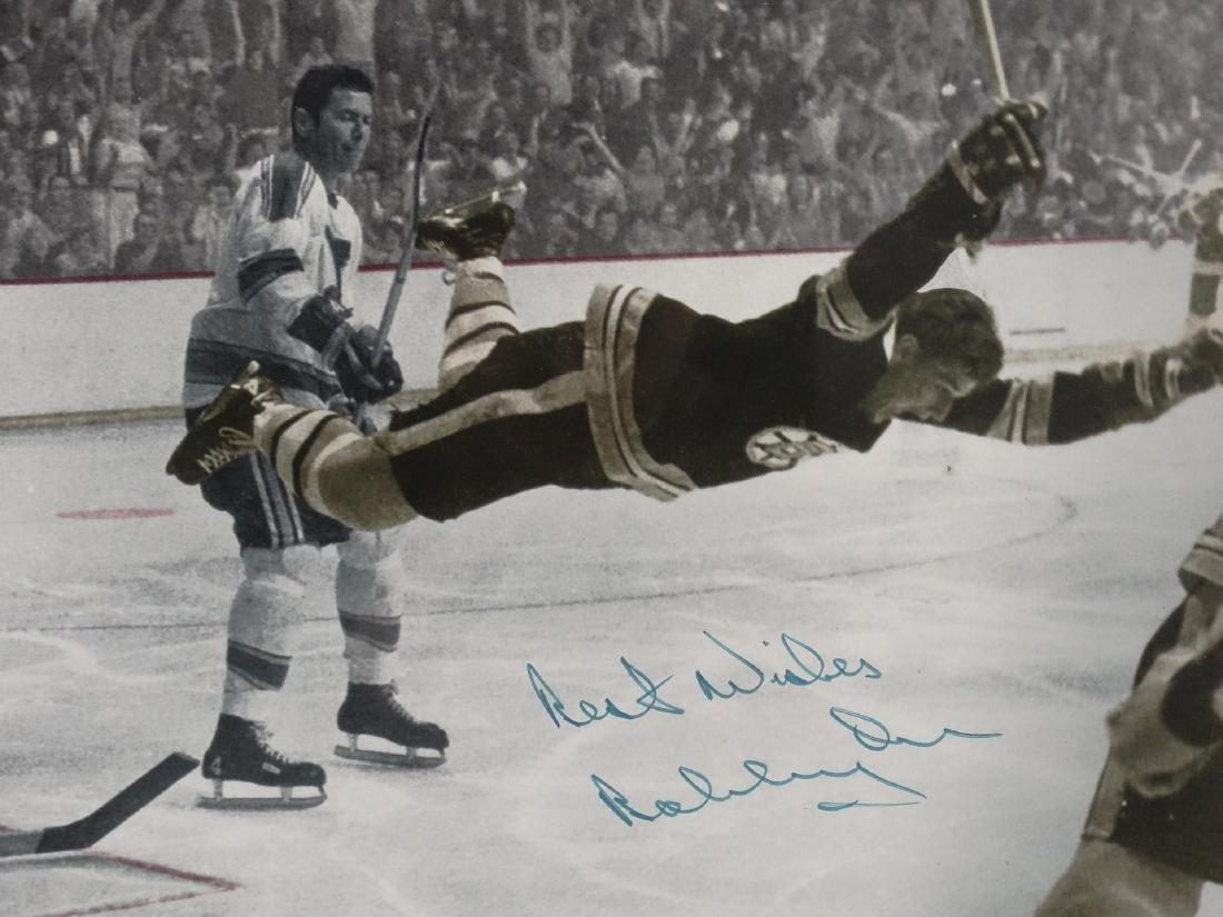 Bobby Orr Autographed Photograph - 2