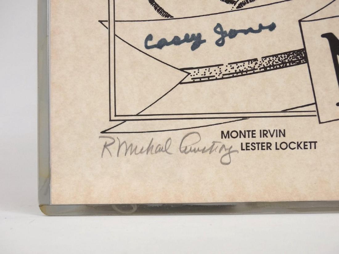 Negro League Autographed Print - 3