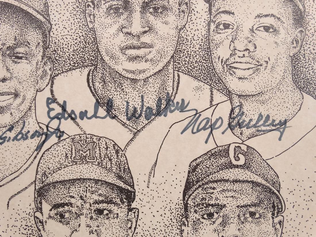 Negro League Autographed Print - 5
