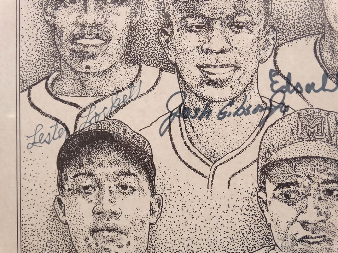 Negro League Autographed Print - 6