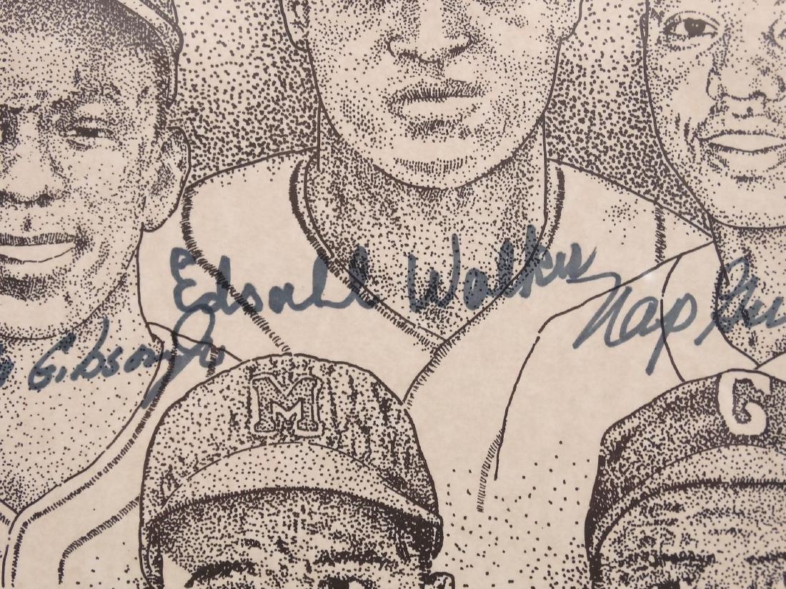 Negro League Autographed Print - 7