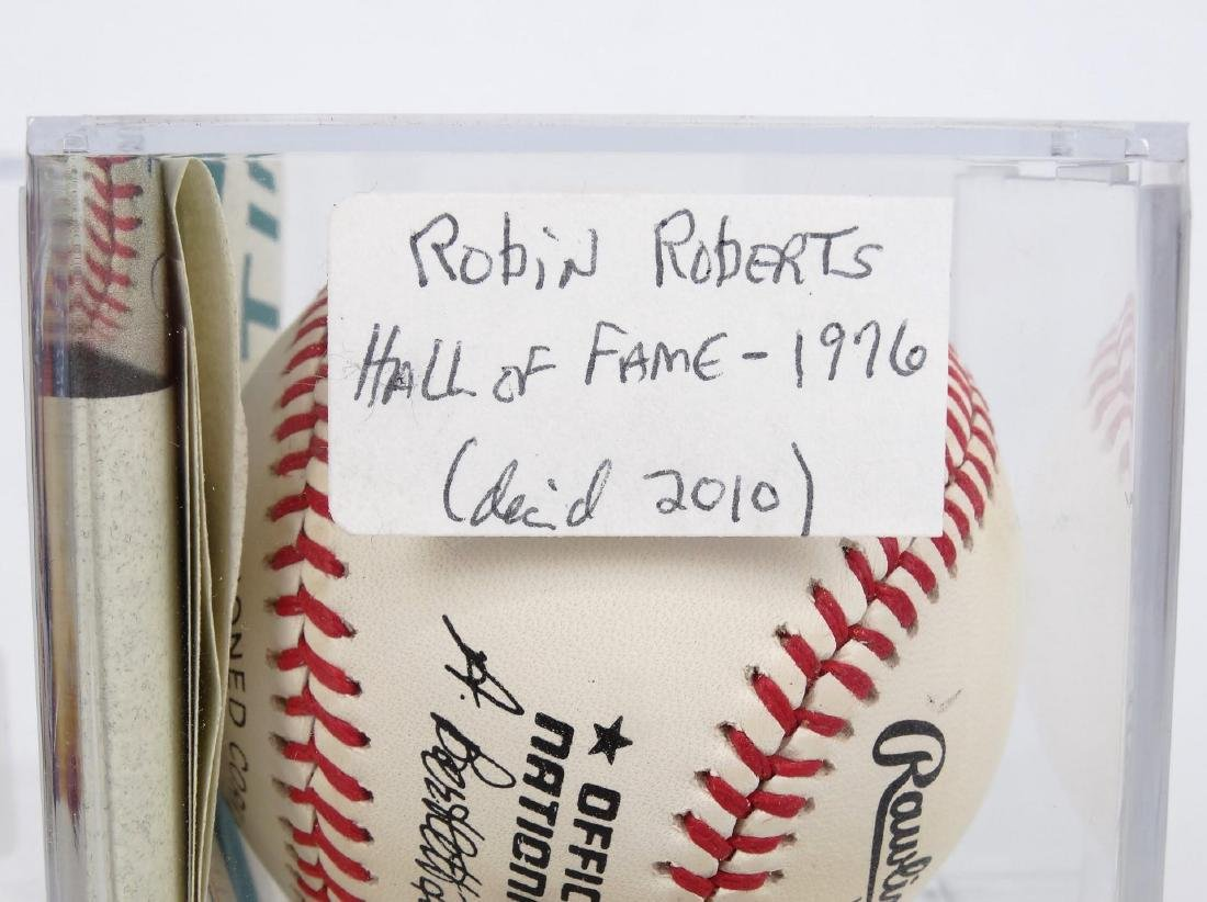 Autographed Baseball Lot - 4