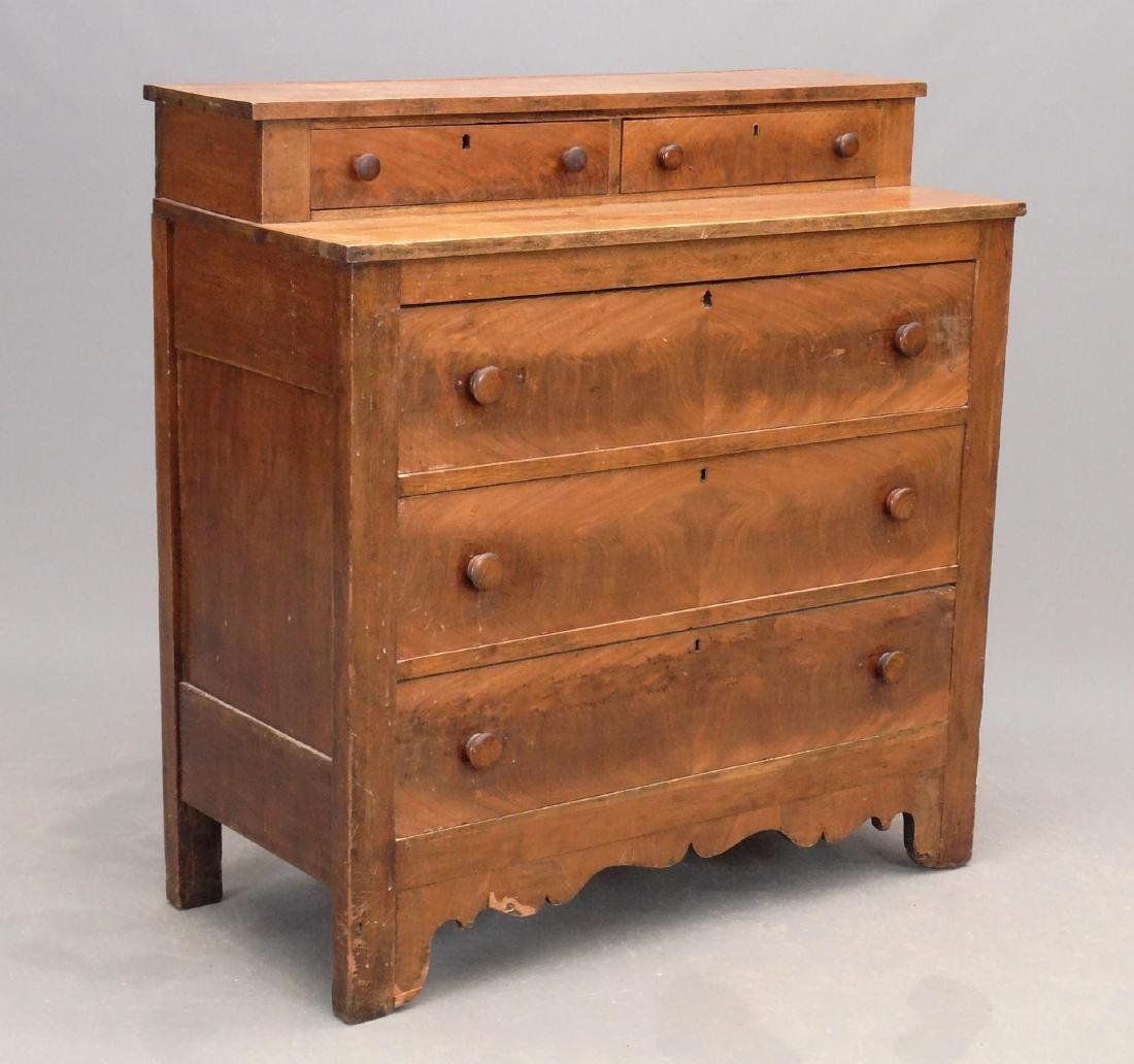 19th c. Chest Of Drawers