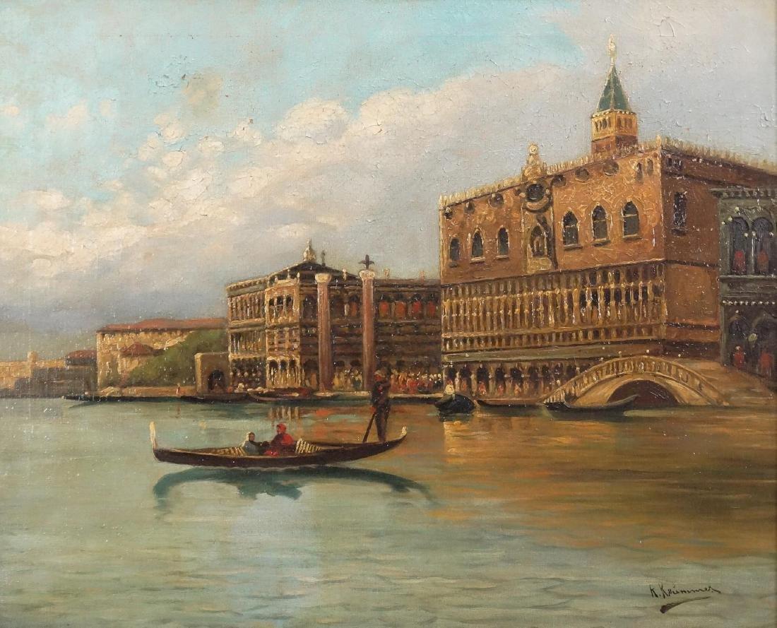 Italian School, Harbor Scene - 2