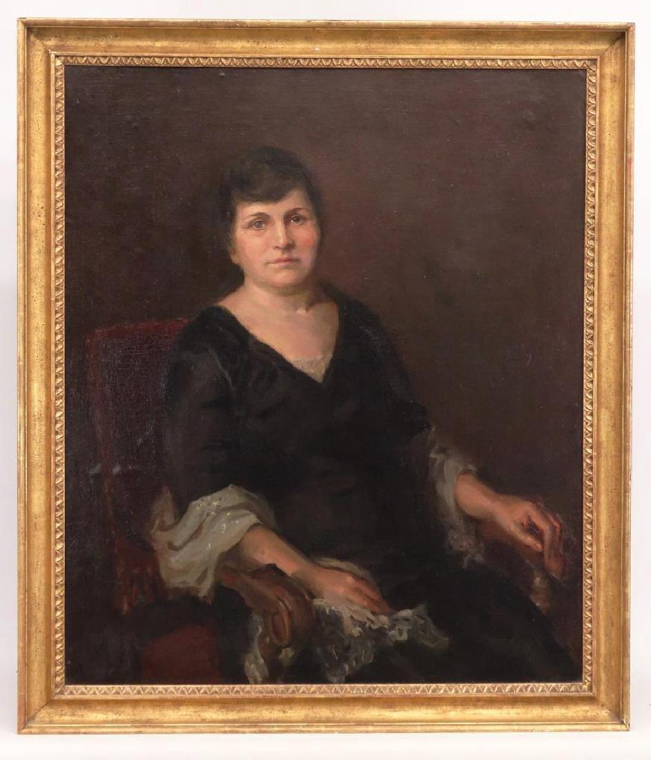 Painting, Portrait Of Bella Geist