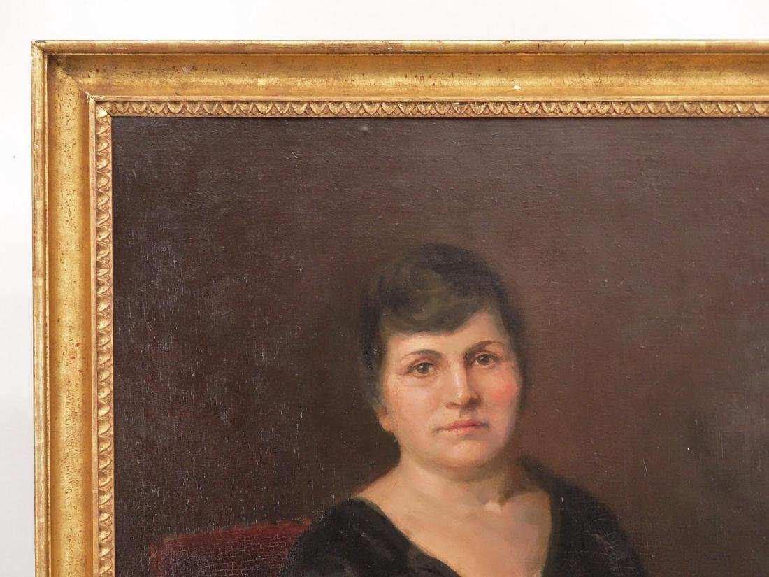 Painting, Portrait Of Bella Geist - 2