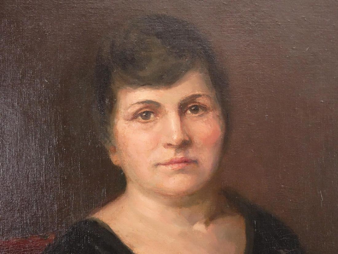 Painting, Portrait Of Bella Geist - 3