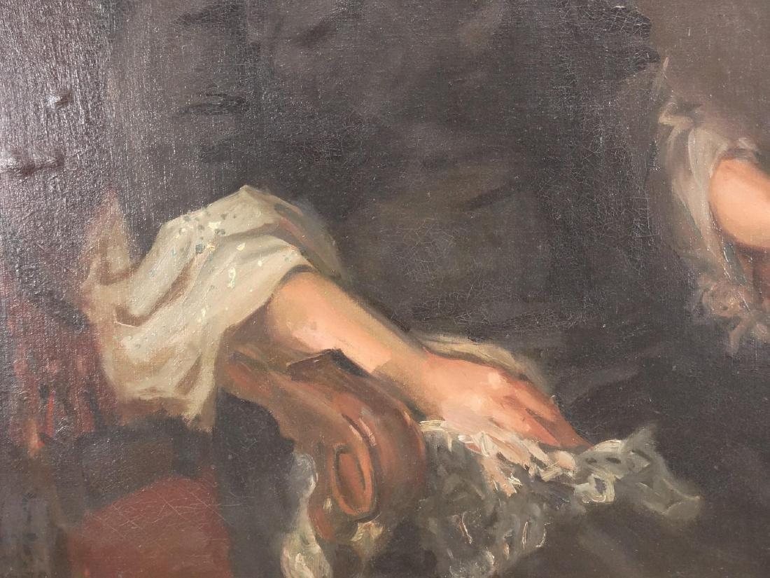 Painting, Portrait Of Bella Geist - 4