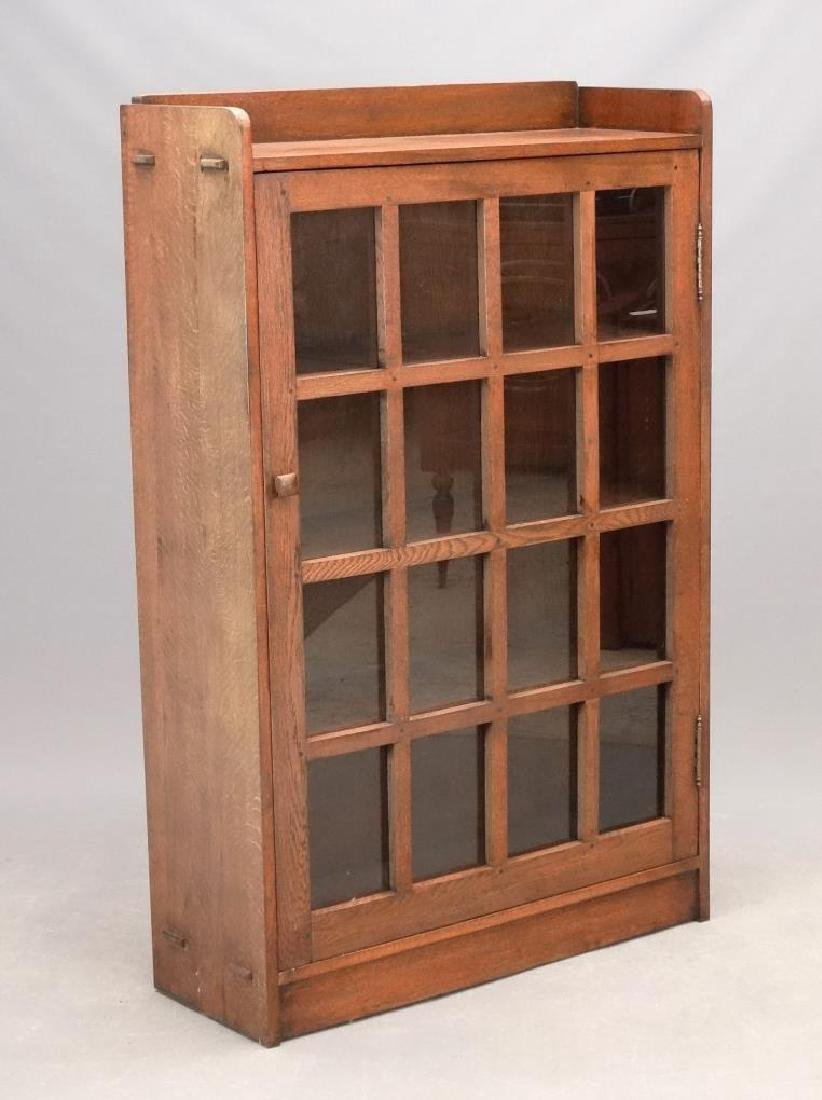 Arts & Crafts Style Oak Bookcase