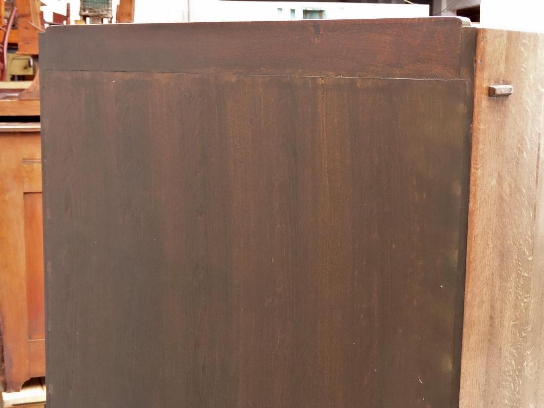 Arts & Crafts Style Oak Bookcase - 6