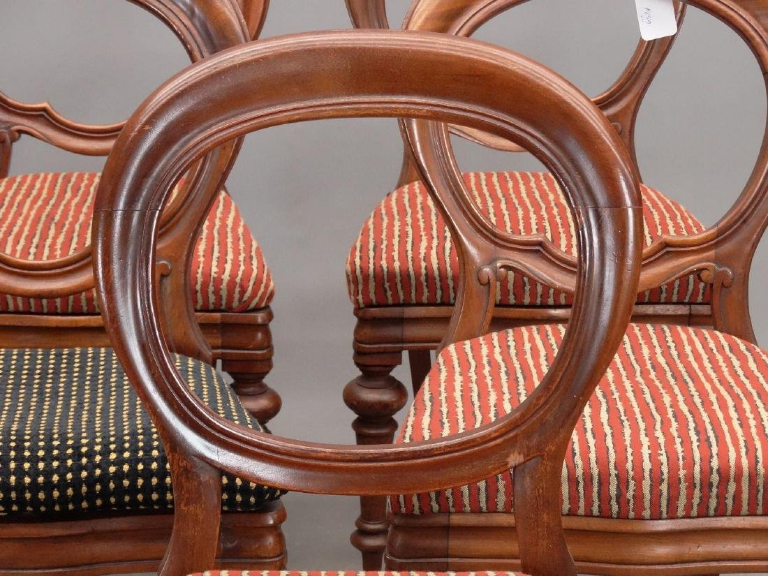 Set Of (11) 19th c. Victorian Side Chairs - 3