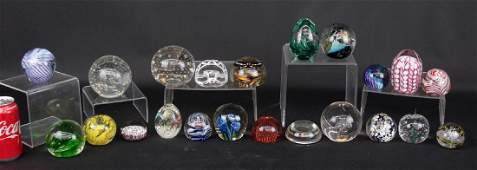 Paperweight Lot
