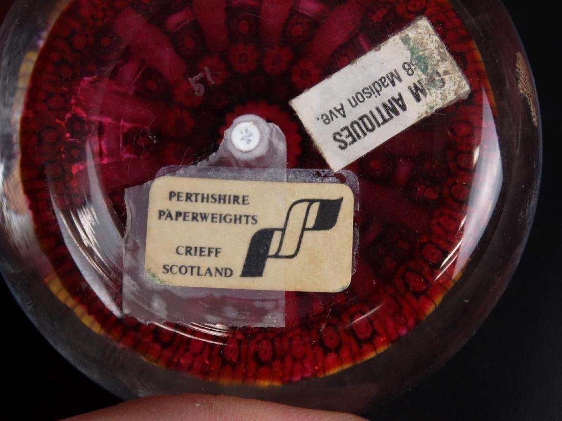 Perthshire Millefiori Paperweight - 4