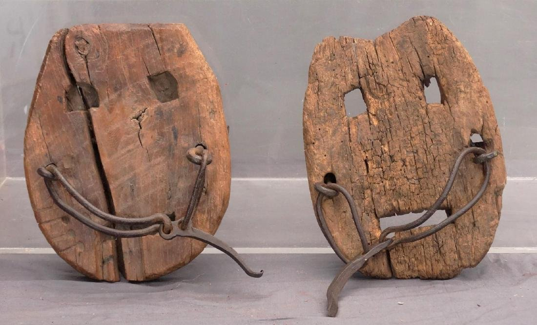 Wooden Horse Shoes - 3